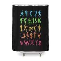 MUSICAL ALPHABET - shower-curtain - small view