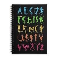 MUSICAL ALPHABET - spiral-notebook - small view