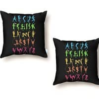 MUSICAL ALPHABET - throw-pillow - small view
