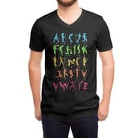 MUSICAL ALPHABET - vneck - small view