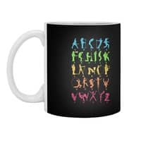 MUSICAL ALPHABET - white-mug - small view