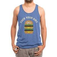 Discounting Calories - mens-triblend-tank - small view