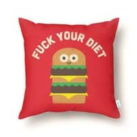 Discounting Calories - throw-pillow - small view