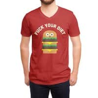 Discounting Calories - vneck - small view