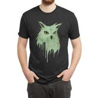 Melting Owl - mens-triblend-tee - small view