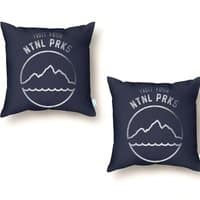 NTNL PRKS - throw-pillow - small view