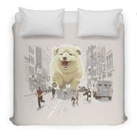 Attack of the Cutest Monster - duvet-cover - small view