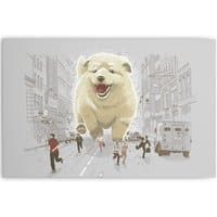 Attack of the Cutest Monster - horizontal-canvas - small view