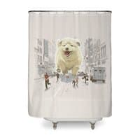Attack of the Cutest Monster - shower-curtain - small view