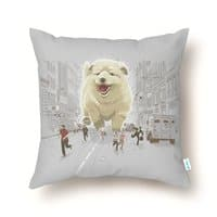 Attack of the Cutest Monster - throw-pillow - small view
