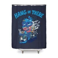 Hang In There! - shower-curtain - small view