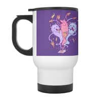 Hongry Like the Wolves! - travel-mug-with-handle - small view