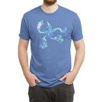 Skatebird - mens-triblend-tee - small view