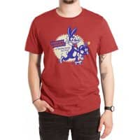 Tricky Saves the Day - mens-extra-soft-tee - small view