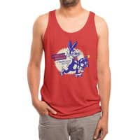 Tricky Saves the Day - mens-triblend-tank - small view