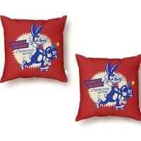 Tricky Saves the Day - throw-pillow - small view