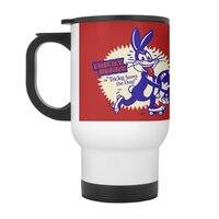 Tricky Saves the Day - travel-mug-with-handle - small view