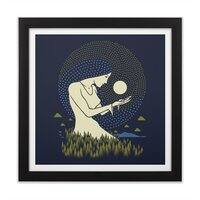 Moonlight - black-square-framed-print - small view