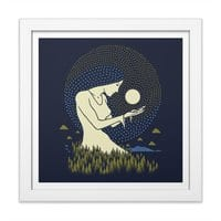 Moonlight - white-square-framed-print - small view