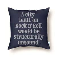 A city built on rock n' roll would be structurally unsound - small view