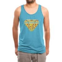 Pizzas are Forever - mens-triblend-tank - small view
