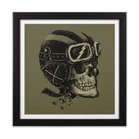 Ride or Die - black-square-framed-print - small view