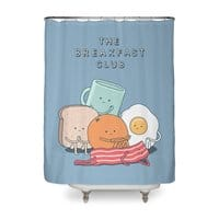 The Breakfast Club - shower-curtain - small view