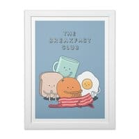 The Breakfast Club - white-vertical-framed-print - small view