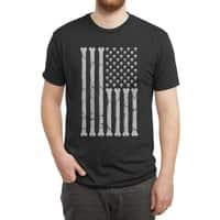 American Skulls and Bones - mens-triblend-tee - small view