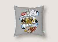 Eat Hardy - throw-pillow - small view