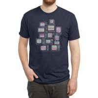 Interference - mens-triblend-tee - small view