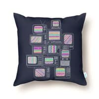 Interference - throw-pillow - small view
