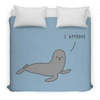 Seal of Approval - duvet-cover - small view