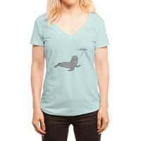 Seal of Approval - womens-deep-v-neck - small view