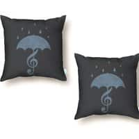 Singing in the Rain - throw-pillow - small view