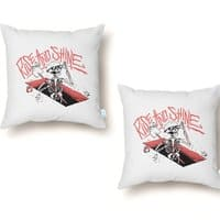 Good Mourning - throw-pillow - small view
