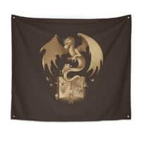 The Mysterious Game of the Throne - indoor-wall-tapestry - small view