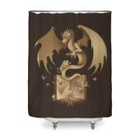 The Mysterious Game of the Throne - shower-curtain - small view