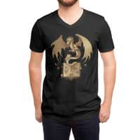 The Mysterious Game of the Throne - vneck - small view