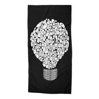 Ghost Bulb - beach-towel - small view