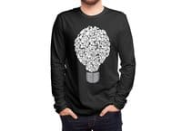 Ghost Bulb - mens-long-sleeve-tee - small view