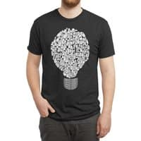 Ghost Bulb - mens-triblend-tee - small view