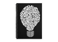 Ghost Bulb - spiral-notebook - small view