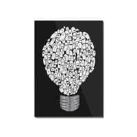 Ghost Bulb - vertical-mounted-acrylic-print - small view