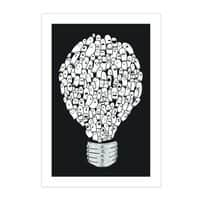 Ghost Bulb - vertical-print - small view
