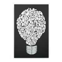 Ghost Bulb - vertical-stretched-canvas - small view