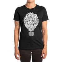 Ghost Bulb - womens-extra-soft-tee - small view