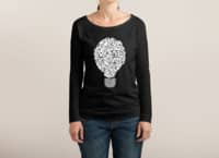 Ghost Bulb - womens-long-sleeve-terry-scoop - small view