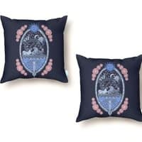 Ye Olde Throne - throw-pillow - small view
