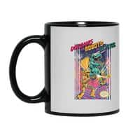 Dinosaurs vs. Robots vs. Aliens - black-mug - small view